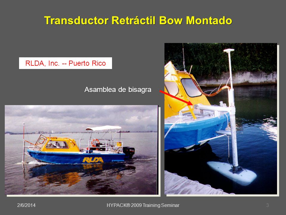 Transductor Retráctil Bow Montado