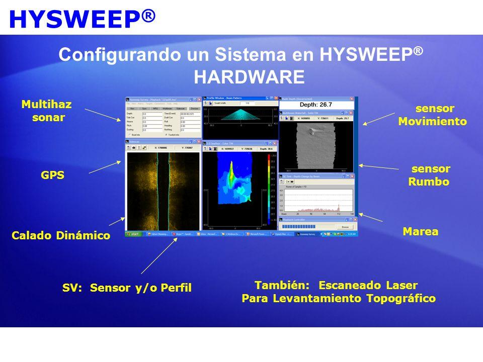Configurando un Sistema en HYSWEEP® HARDWARE