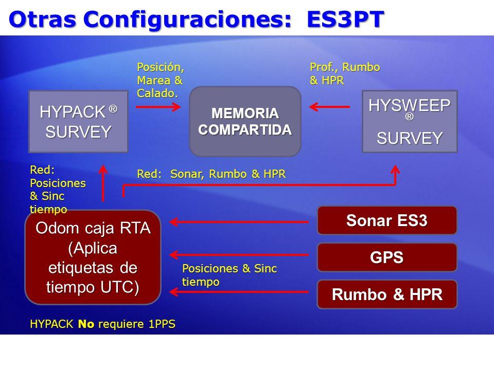 Otras Configuraciones: ES3PT