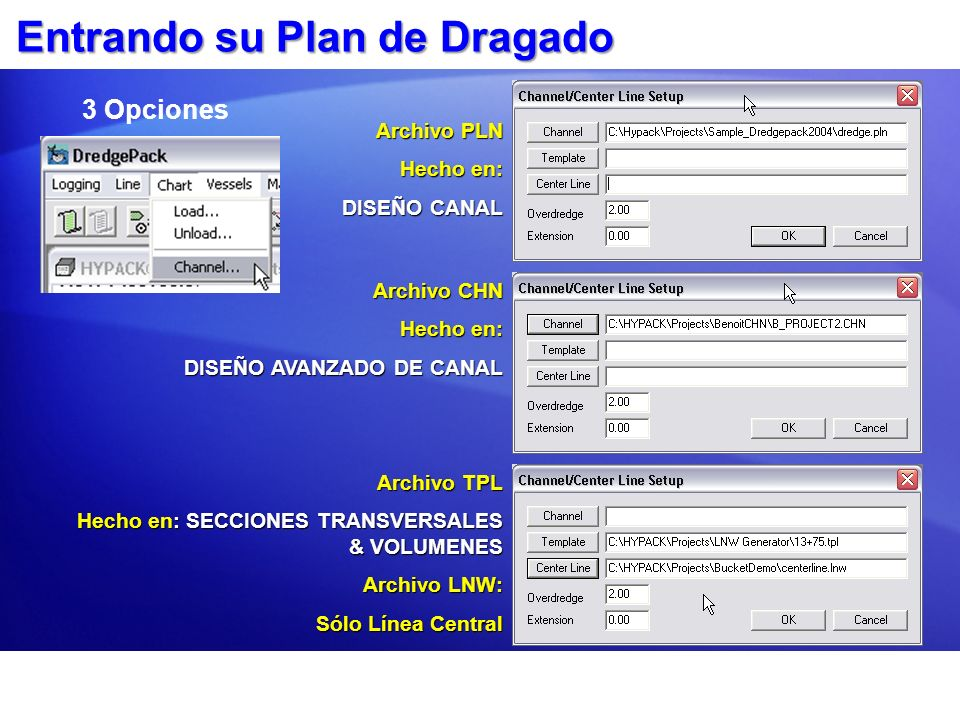 Entrando su Plan de Dragado