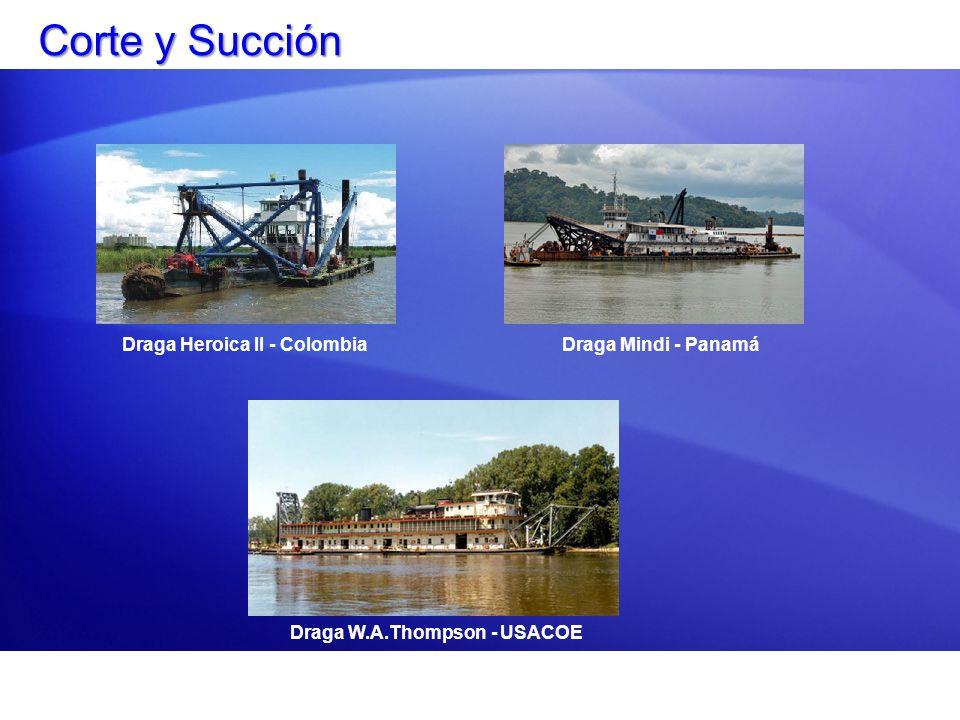 Corte y Succión Draga Heroica II - Colombia Draga Mindi - Panamá