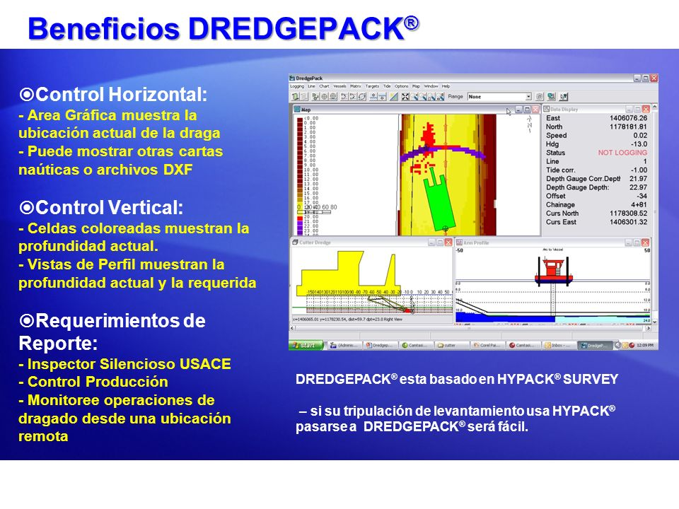 Beneficios DREDGEPACK®