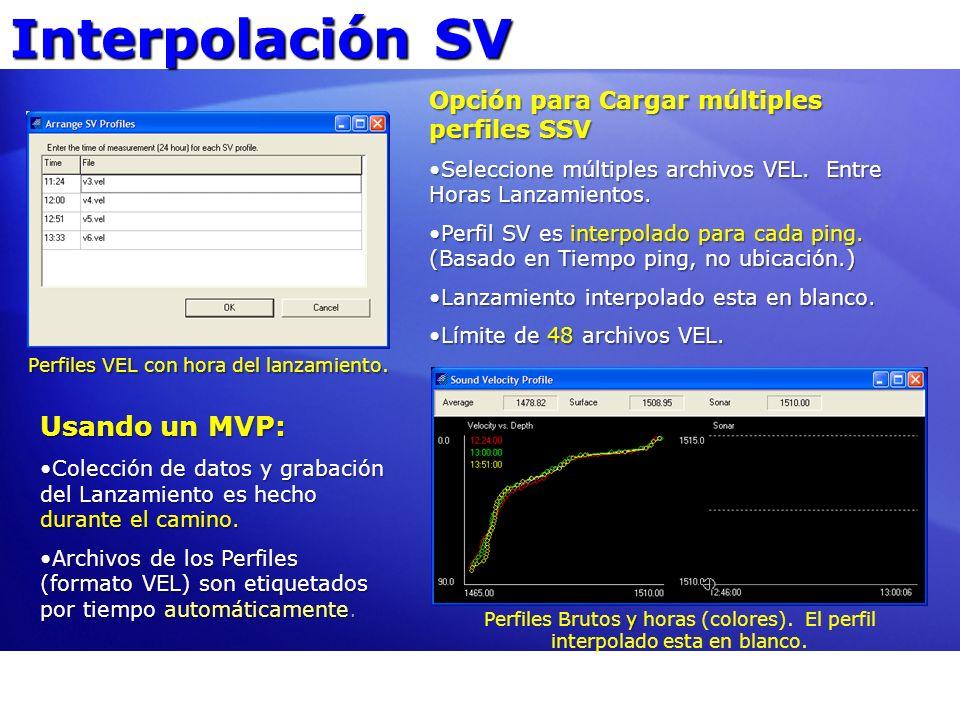 Interpolación SV Usando un MVP: