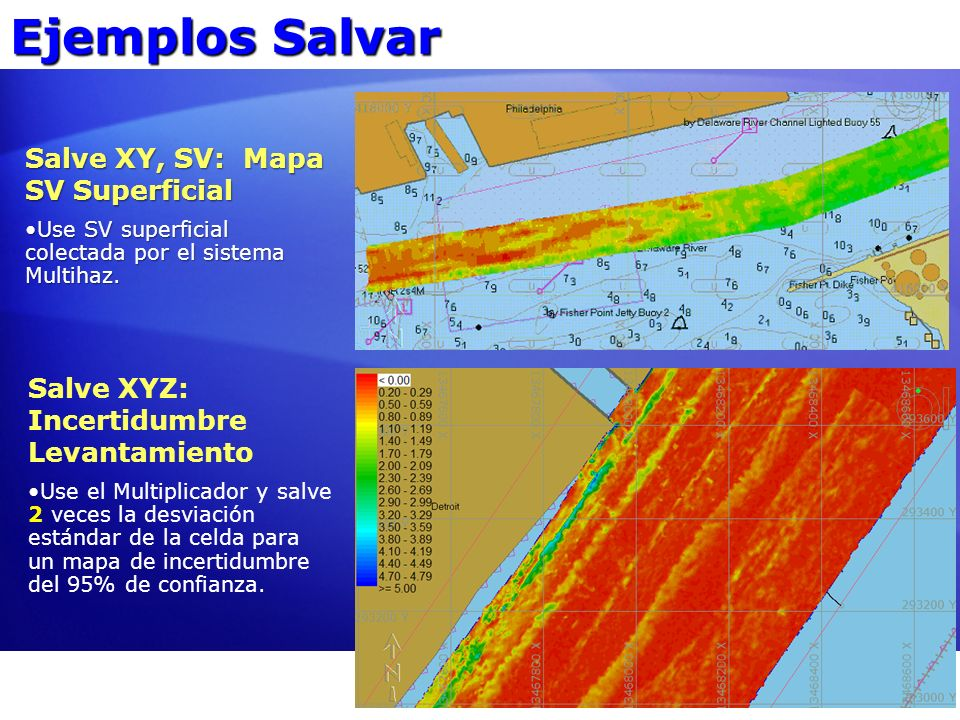 Ejemplos Salvar Salve XY, SV: Mapa SV Superficial