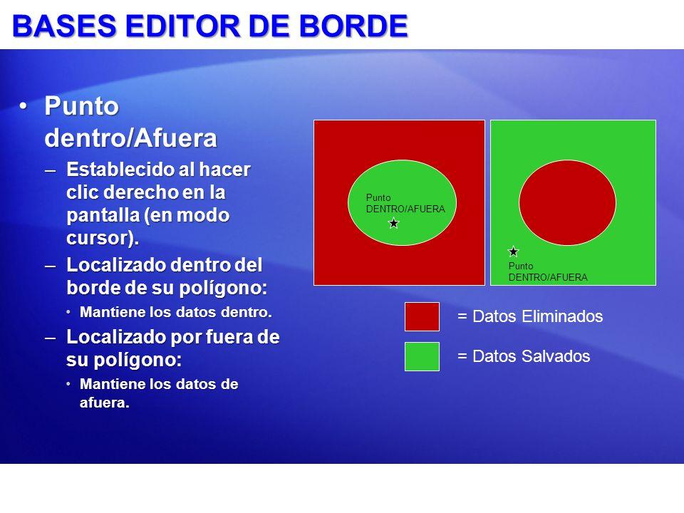 BASES EDITOR DE BORDE Punto dentro/Afuera