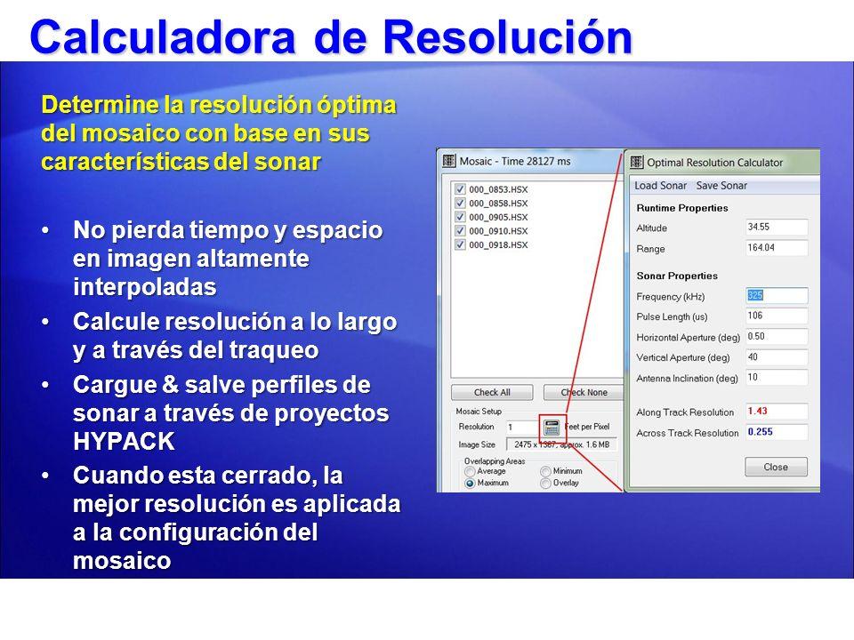 Calculadora de Resolución
