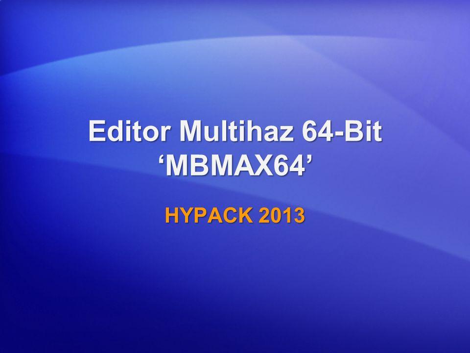 Editor Multihaz 64-Bit 'MBMAX64'
