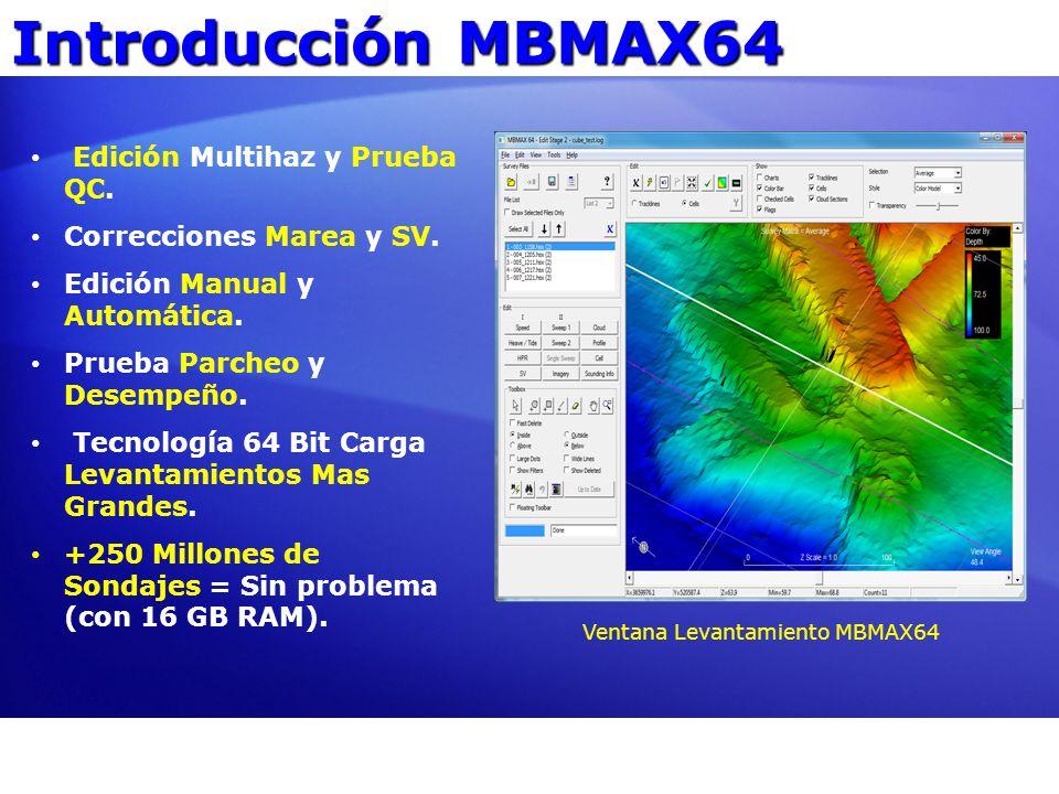 Ventana Levantamiento MBMAX64