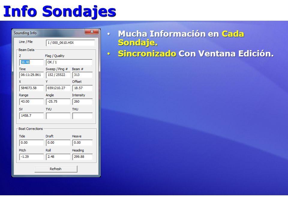 Info Sondajes Mucha Información en Cada Sondaje.