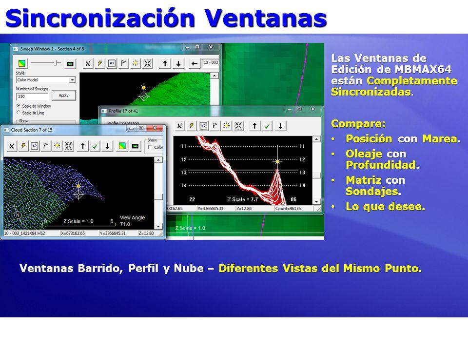 Sincronización Ventanas