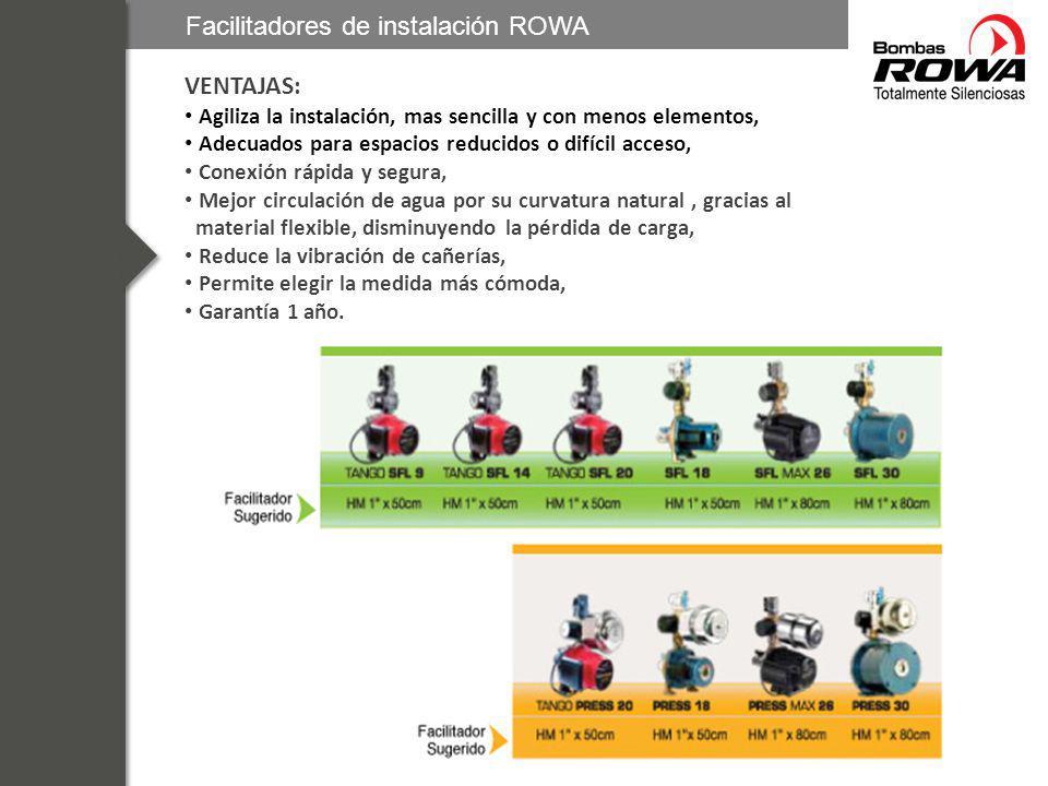 Facilitadores de instalación ROWA