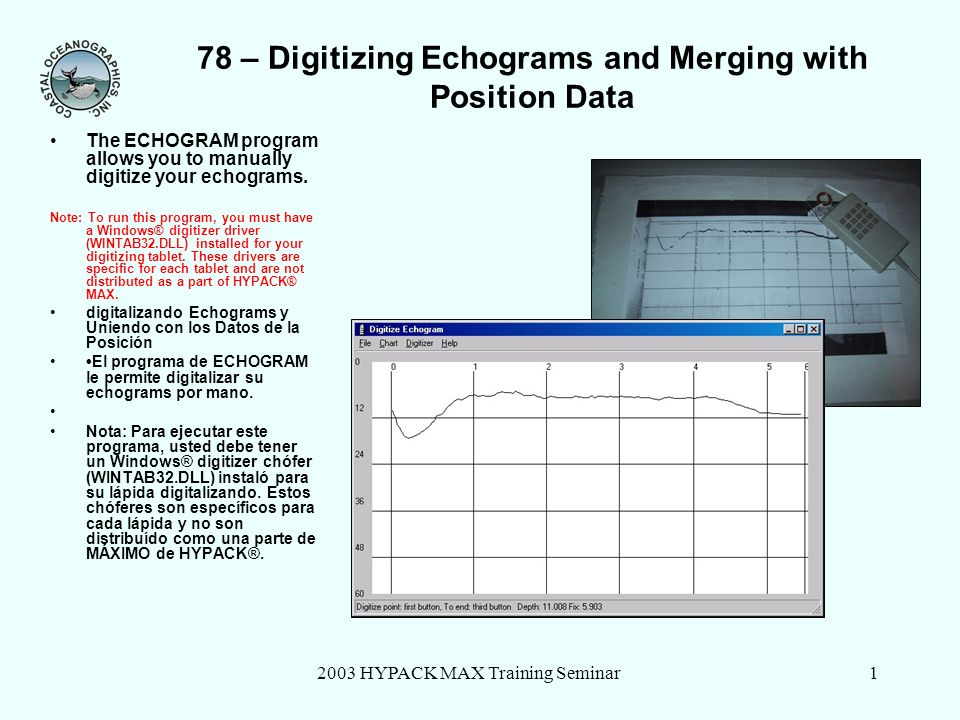78 – Digitizing Echograms and Merging with Position Data