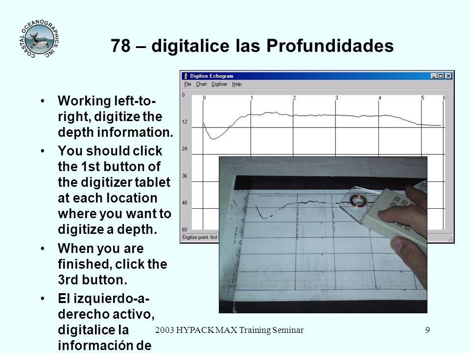 78 – digitalice las Profundidades