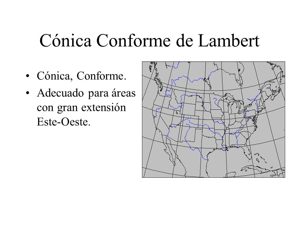 Cónica Conforme de Lambert