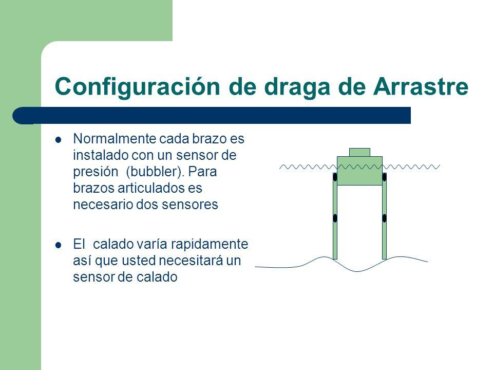 Configuración de draga de Arrastre