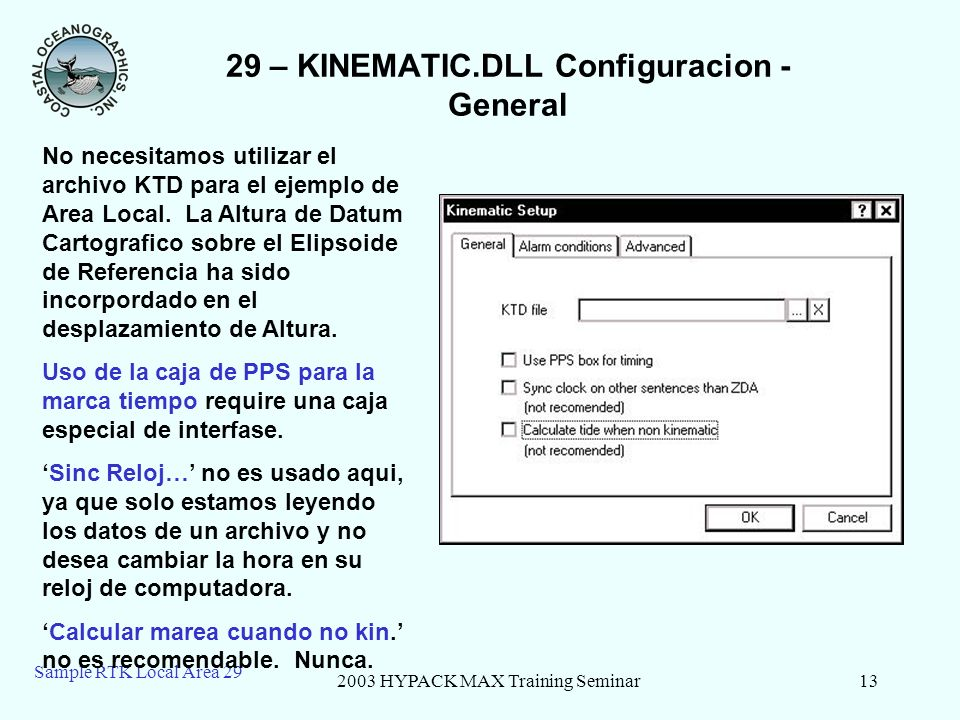 29 – KINEMATIC.DLL Configuracion - General