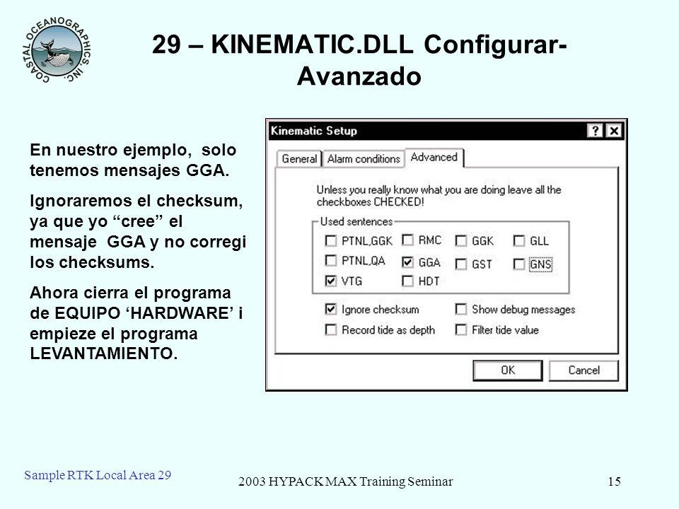 29 – KINEMATIC.DLL Configurar-Avanzado
