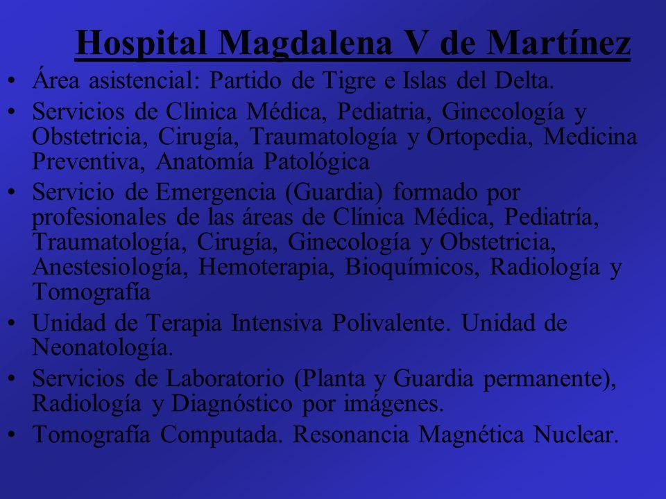 Hospital Magdalena V de Martínez