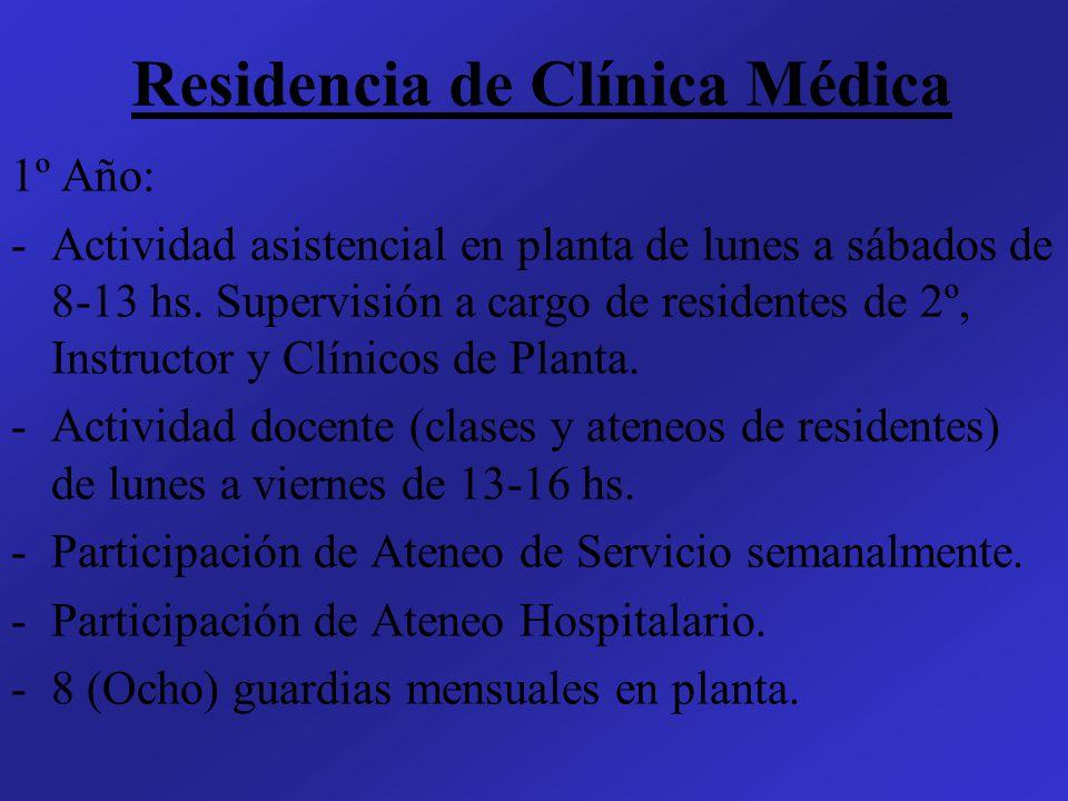Residencia de Clínica Médica
