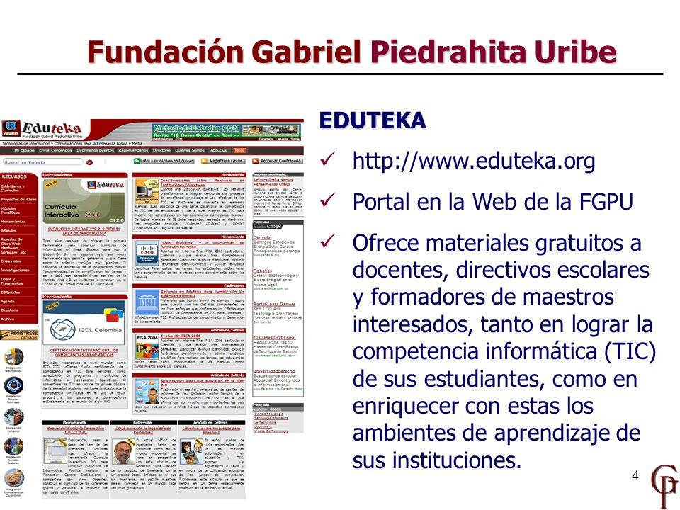 Fundación Gabriel Piedrahita Uribe