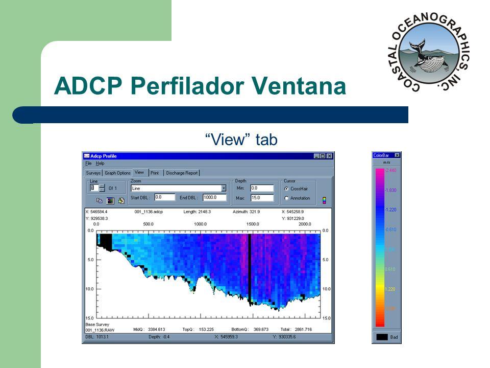 ADCP Perfilador Ventana