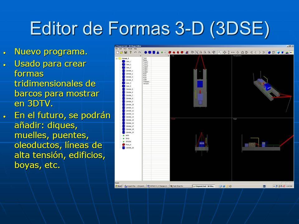 Editor de Formas 3-D (3DSE)