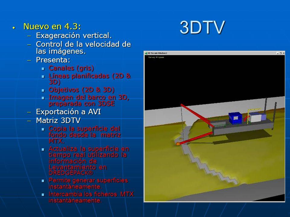 3DTV Nuevo en 4.3: Exageración vertical.