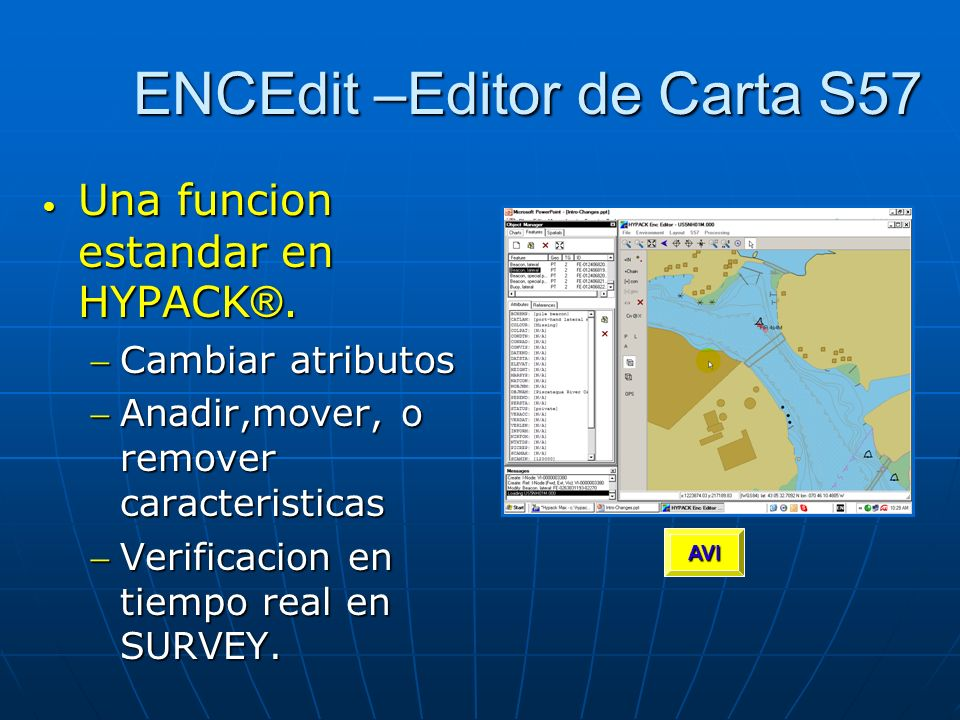 ENCEdit –Editor de Carta S57