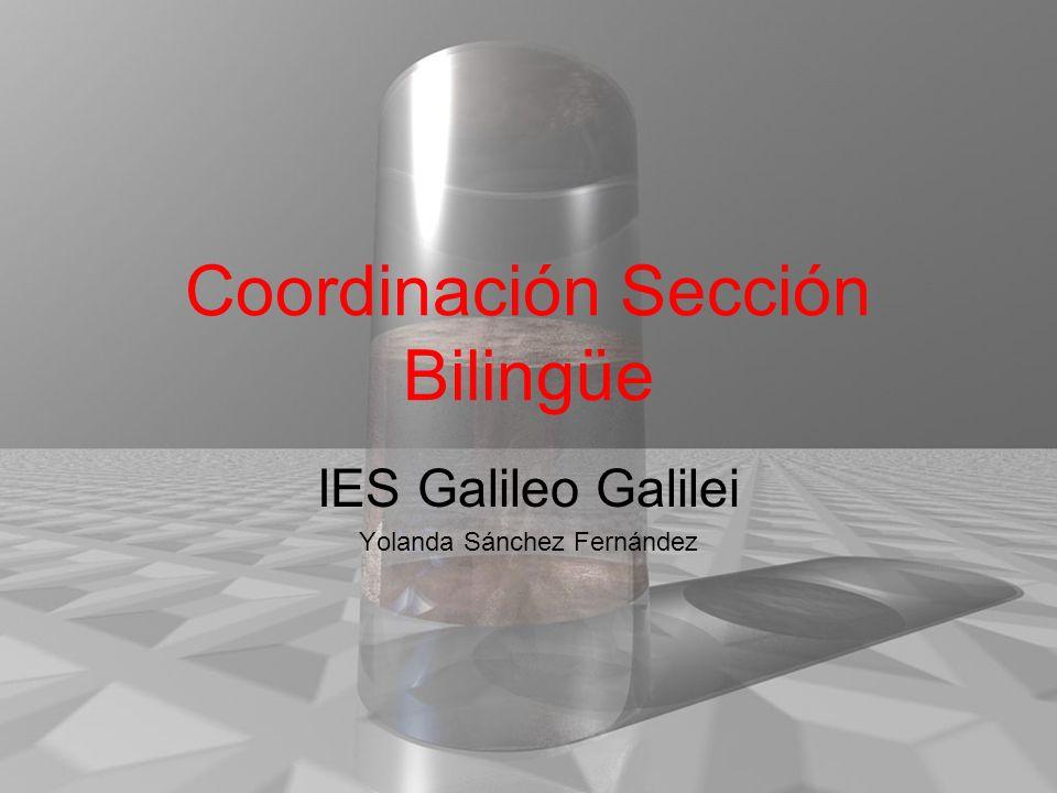 Coordinación Sección Bilingüe