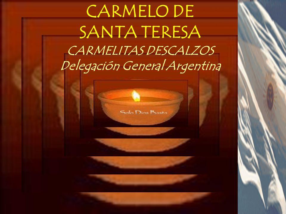 CARMELITAS DESCALZOS Delegación General Argentina