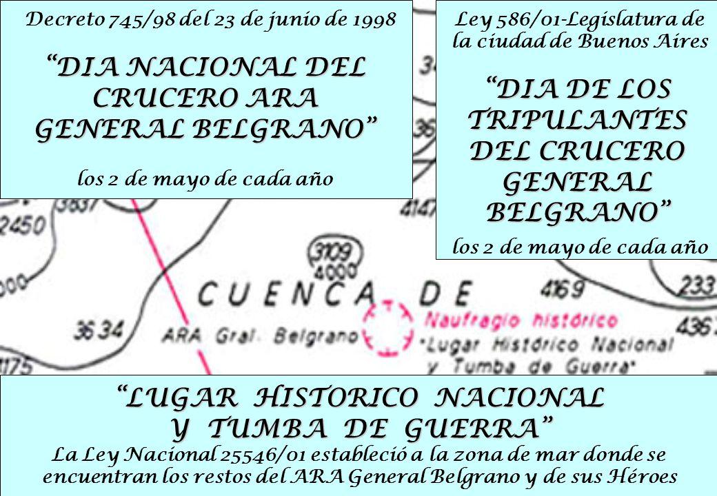 DIA DE LOS TRIPULANTES DEL CRUCERO GENERAL BELGRANO