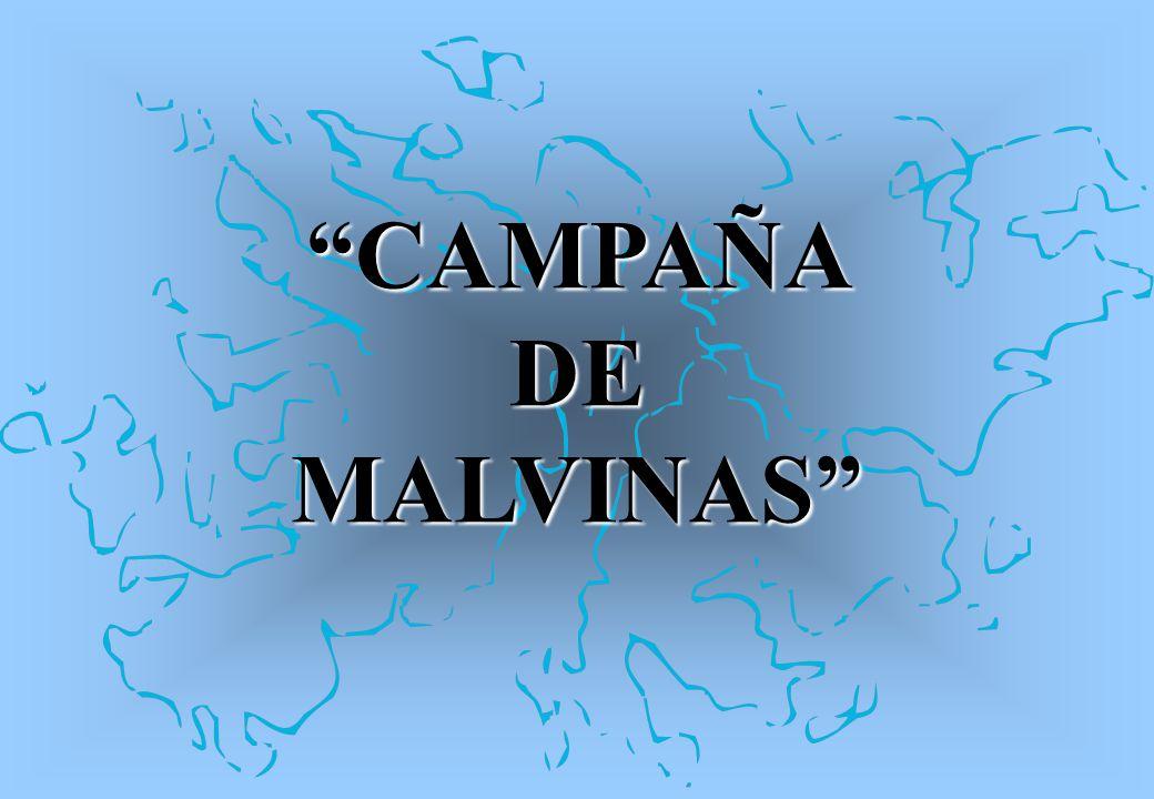 CAMPAÑA DE MALVINAS