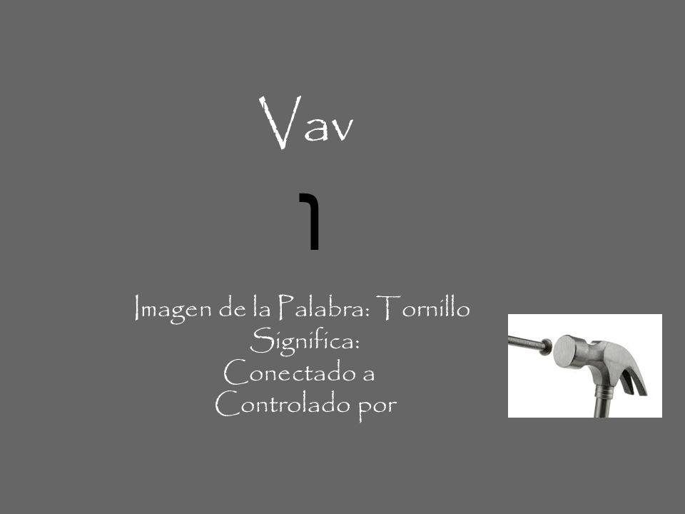Imagen de la Palabra: Tornillo