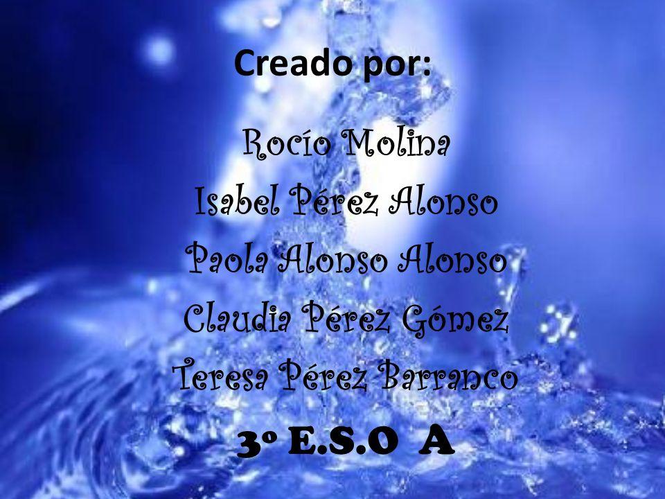 Creado por: Rocío Molina Isabel Pérez Alonso Paola Alonso Alonso Claudia Pérez Gómez Teresa Pérez Barranco 3º E.S.O A
