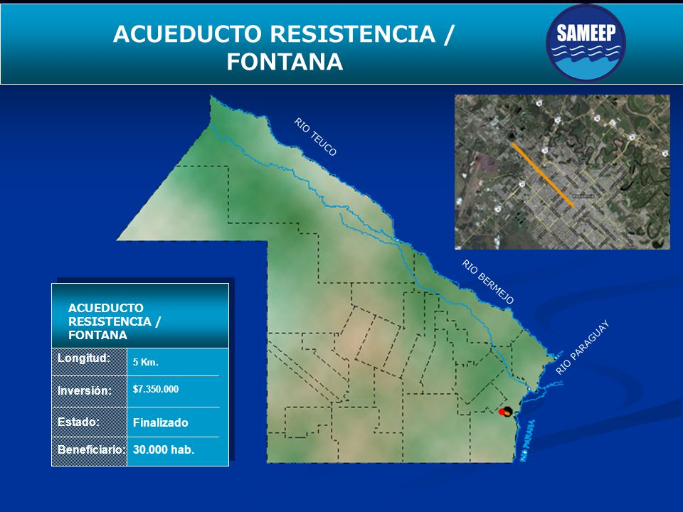 ACUEDUCTO RESISTENCIA / FONTANA