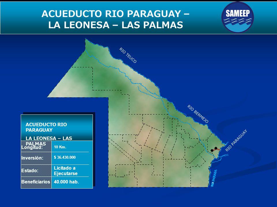 ACUEDUCTO RIO PARAGUAY –