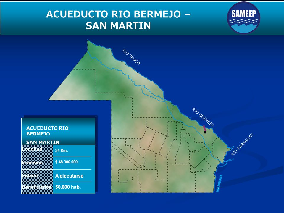 ACUEDUCTO RIO BERMEJO –
