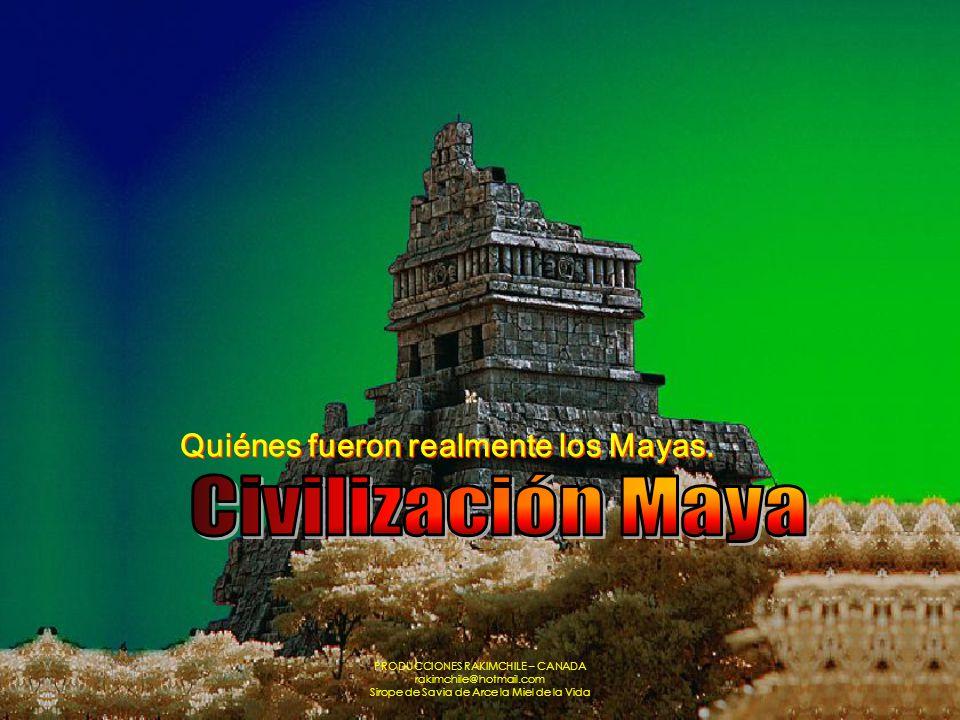 Civilización Maya Quiénes fueron realmente los Mayas.