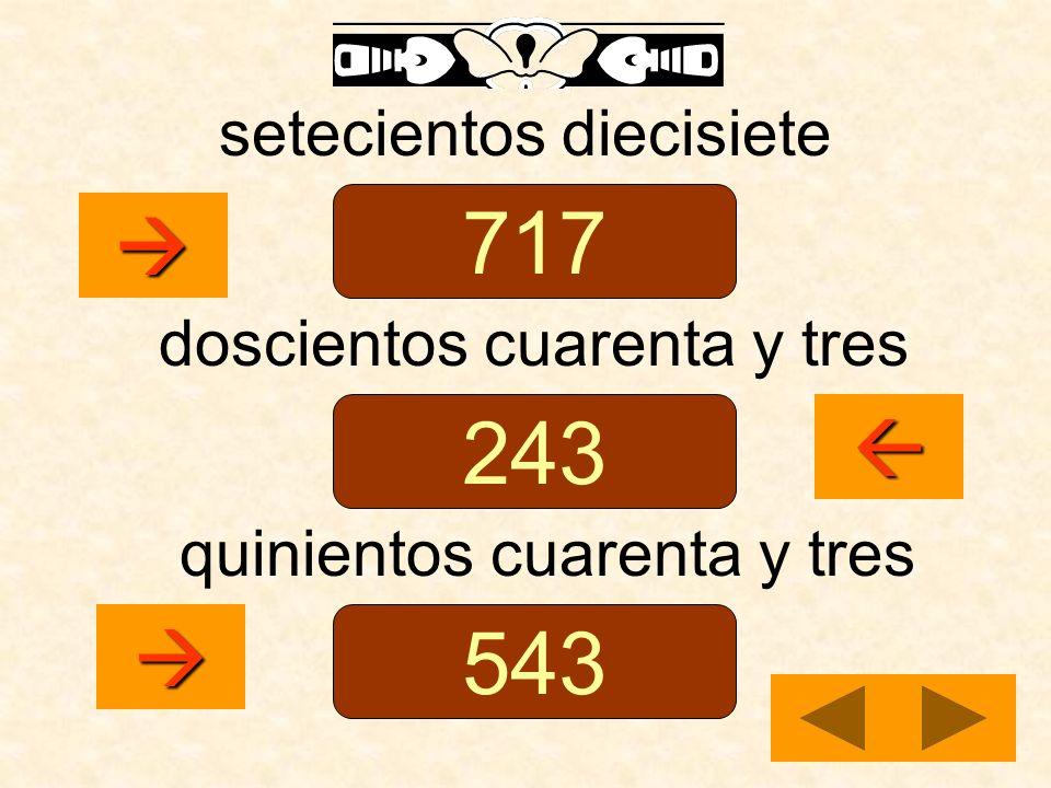717 243 543    setecientos diecisiete doscientos cuarenta y tres