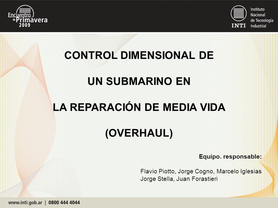 CONTROL DIMENSIONAL DE LA REPARACIÓN DE MEDIA VIDA