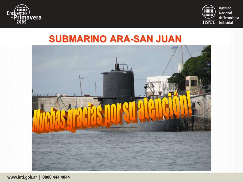 SUBMARINO ARA-SAN JUAN