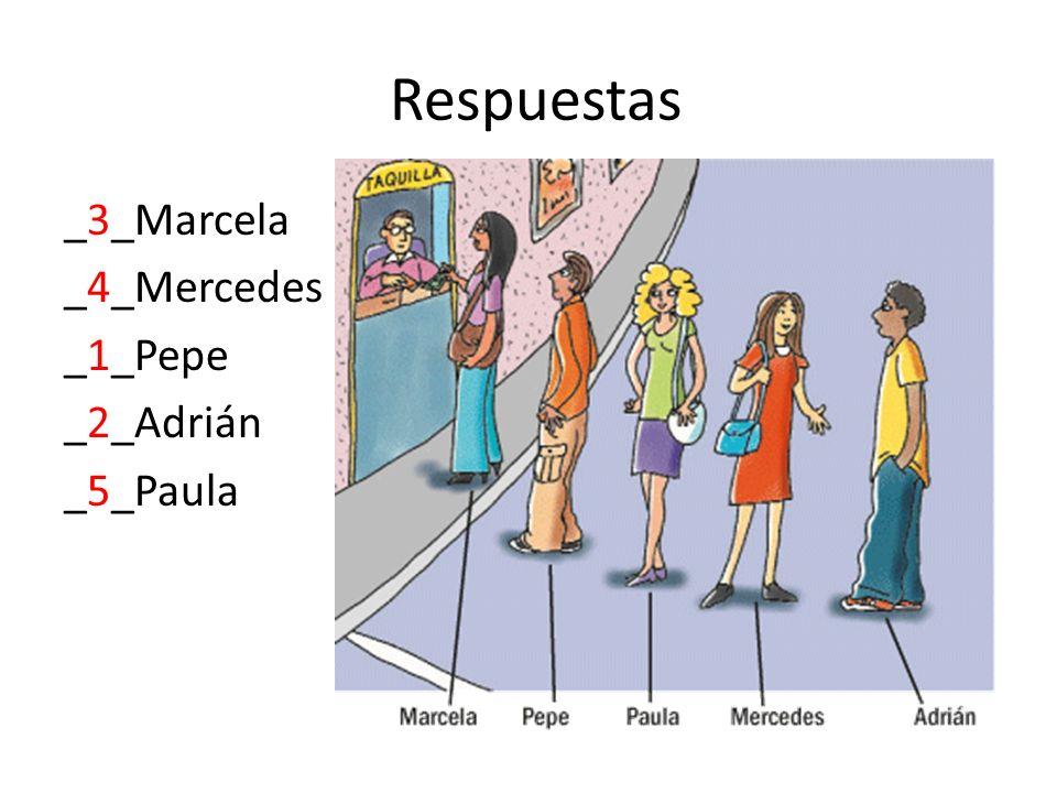 Respuestas _3_Marcela _4_Mercedes _1_Pepe _2_Adrián _5_Paula