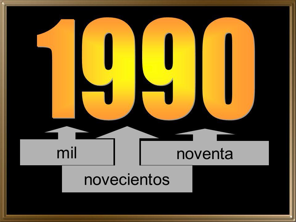 1990 mil novecientos noventa