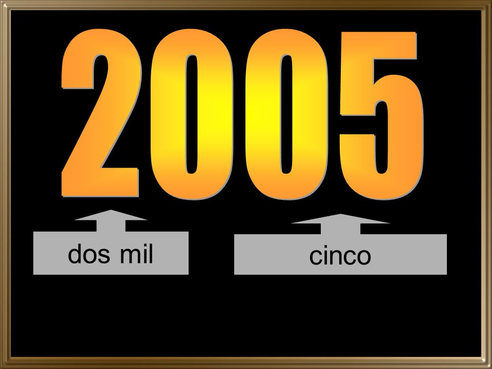 2005 dos mil cinco
