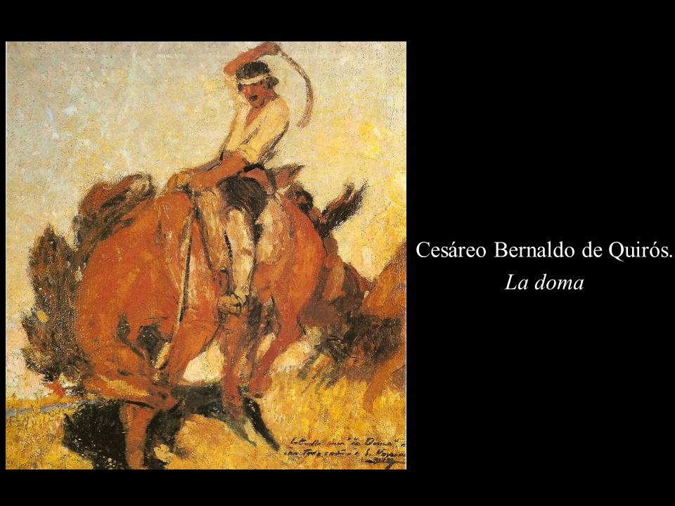 Cesáreo Bernaldo de Quirós.