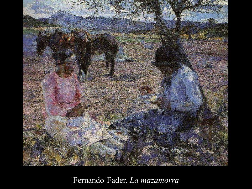 Fernando Fader. La mazamorra