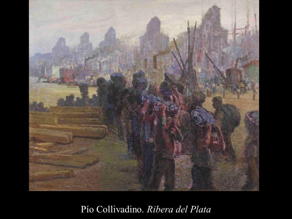 Pío Collivadino. Ribera del Plata