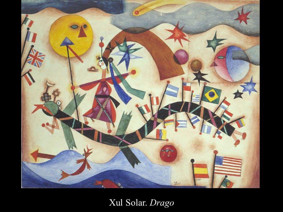 Xul Solar. Drago