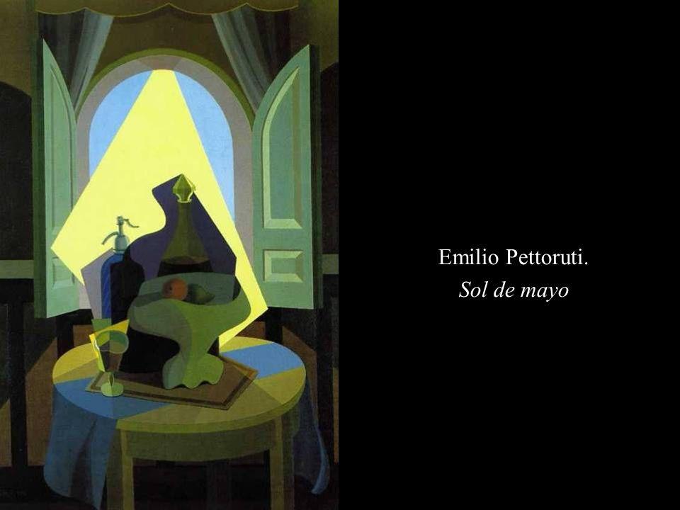 Emilio Pettoruti. Sol de mayo