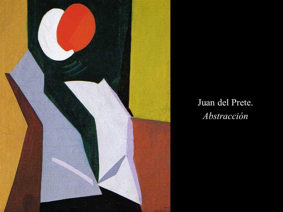 Juan del Prete. Abstracción